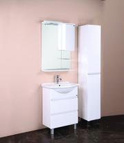 Шкаф-зеркало ЭЛИТА 60.01 (белый) Правый