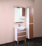Шкаф-зеркало ЭЛИТА 60.01 (штрокс коричневый)